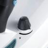 Kép 5/11 - Ariete 4147 XSteam No Stop multifunkciós gőztisztító be/kikapcsoló gomb