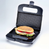 Kép 3/4 - Ariete 1982 Toast&Grill Compact szendvicssütő és grillsütő tapadásmentes, bordázott sütőlapok