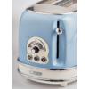 Kép 2/4 - Ariete 155.BL Vintage 2 szeletes kenyérpirító, pasztell kék
