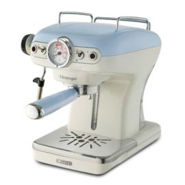Ariete 1389.BL Vintage eszpresszó kávéfőző, pasztell kék